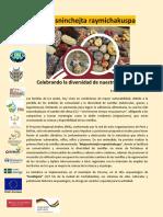 Programa Fiesta Semillas 8 y 9 de Junio 2019