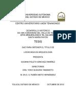 2012_Sánchez-Susana Poleth_Desarrollo Histórico de Una Comunidad Del Valle de Toluca. Sitio Arqueológico El Calvario. Santa María Rayón