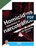 Homicidios vinculados al narcotráfico en Rosario