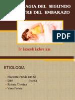 Hemorragia II Mitad Embarazo 2019 Upao