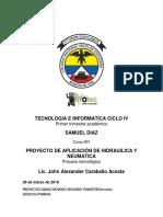 proyecto TECNOLOGIA