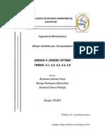 unidad 4 DISEÑO ASISTIDO POR COMPUTADORA