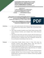 SK Panitia Peneliti Pelaksana Kontrak