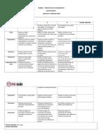 Evaluacion Rubrica Creacion Texto Informativo