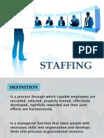 FOM - Staffing