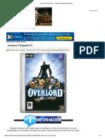 Overlord 2 Español Pc - Aquiyahorajuegosfortheface3