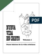 Libro 2 Discipulado Nueva Vida en Cristo Vol.1