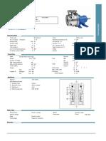 Ficha Tecnica - Goulds 10SHFRM2E0