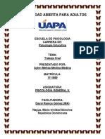PSICOLOGÍA GENERAL II.  tarea TF.docx