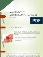 Alimentos animales