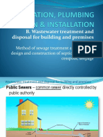 b. Wastewater Treatment