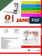 Catalogo Maquinas Janome