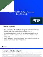 Allovue MNPS FY19-20 Budget Summary 6.12.19