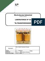 INFORME TRANSFORMADORES