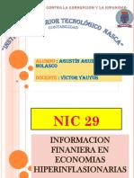 Ni 29 Informacion Financiera en Economias Hiperinflacionarias