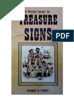 A Pocket Guide to Treasure Signs - Traducido