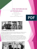 Presentacion de eventos históricos de la tecnologia