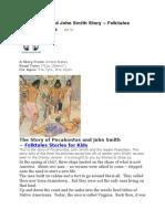 Pocahontas and John Smith Story