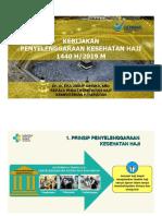 Kapuskeshaji - Paparan Penyelenggaraan Kesehatan Haji 120619