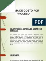 Costo Por Proceso