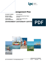 Dredging Management Plan