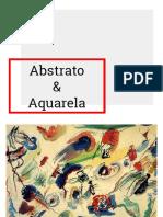 Abstrato & Aquarela