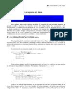 2. Estructura de Un Programa en Java