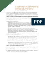 ACTIVIDAD 6 Definicion de Conductores Ambientales Del Proyecto