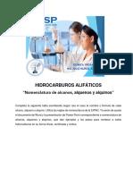 Ejercicios de Alcanos, Alquenos, Alquinos 2018