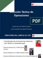 Sesion 6 Operacion Tacticas