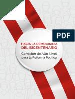 Hacia la democracia del Bicentenario