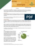 Informe Quincenal Mineria El plomo
