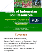 Indonesia F Agus Agriculture Conditions