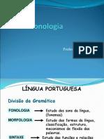 Slide Fonética e Fonología