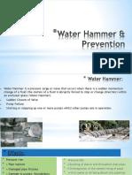 Knowledge Sharing Water Hammer