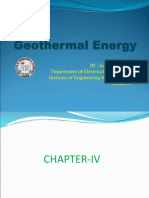 Geothermal Energy