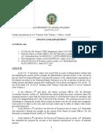 Amendments to a.P. Treasury Code Volume-I - Orders-GO.214-Dt.21!11!2014