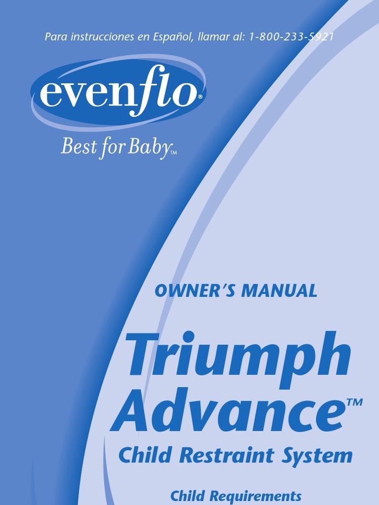 Triumph convertible car seat | evenflo.