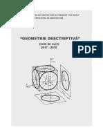 Note-curs Gometrie Descriptiva