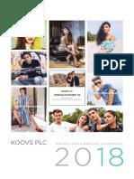 Koovs Annual Report 2018 Web (1)