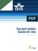 Cargo Agents Handbook 807 English 37th Edition 2014