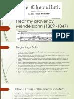 Copy of New Hear My Prayer by Mendelssohn (1809 -1847) Word Painting.pptx