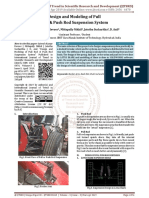 Design and Modeling of Pull Rod and Push Rod Suspension System