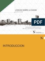 Teorias Sociologicas Sobre La Ciudad