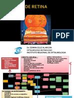 Ponencia 4.2 Emergencias de La Retina Dr. Edwin Celis