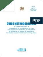 Guide Methodologique Integration Egalite Processus GRH
