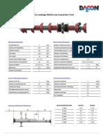 8'' MFL Tool Data Sheet