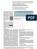 Design and Implementation of Bluetooth Based Industrial Automation