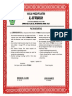 Pakta Integritas YPP Al-Mu'Awanah