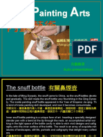 Painting Inside the Bottle